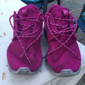 Pink Nike Roshe Run Sneakers